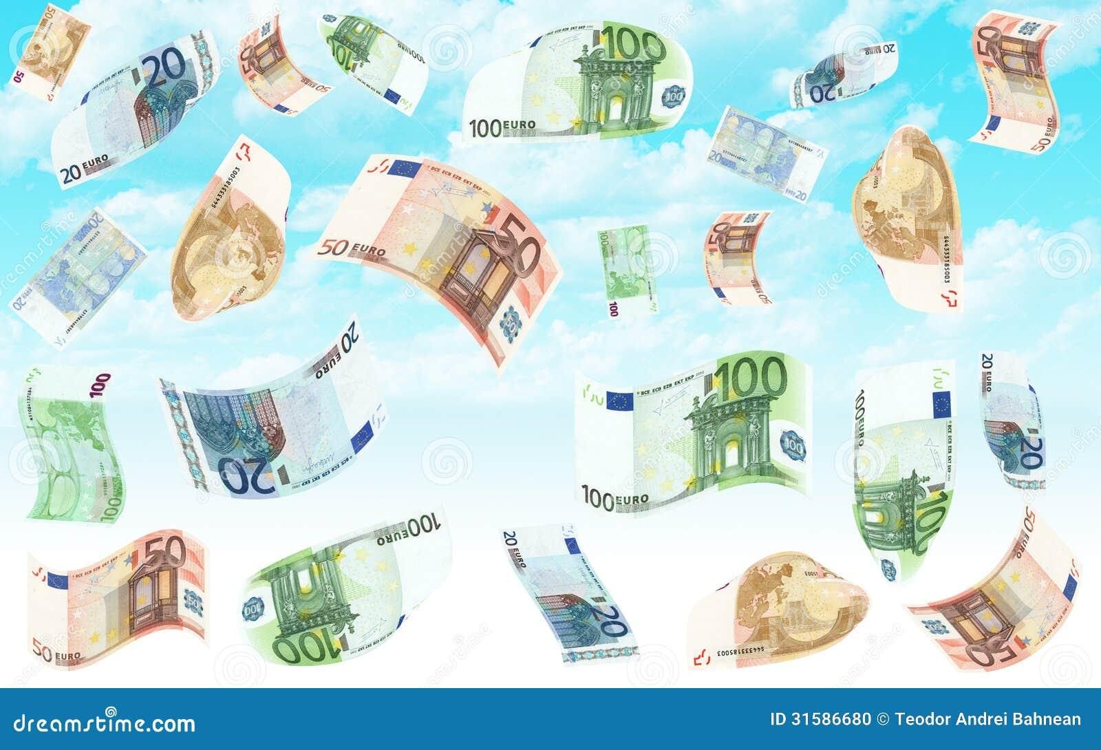 Euro deszcz