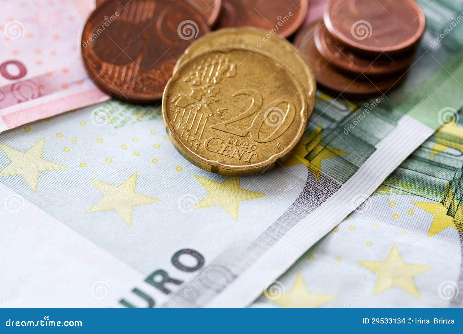 Euro do dinheiro