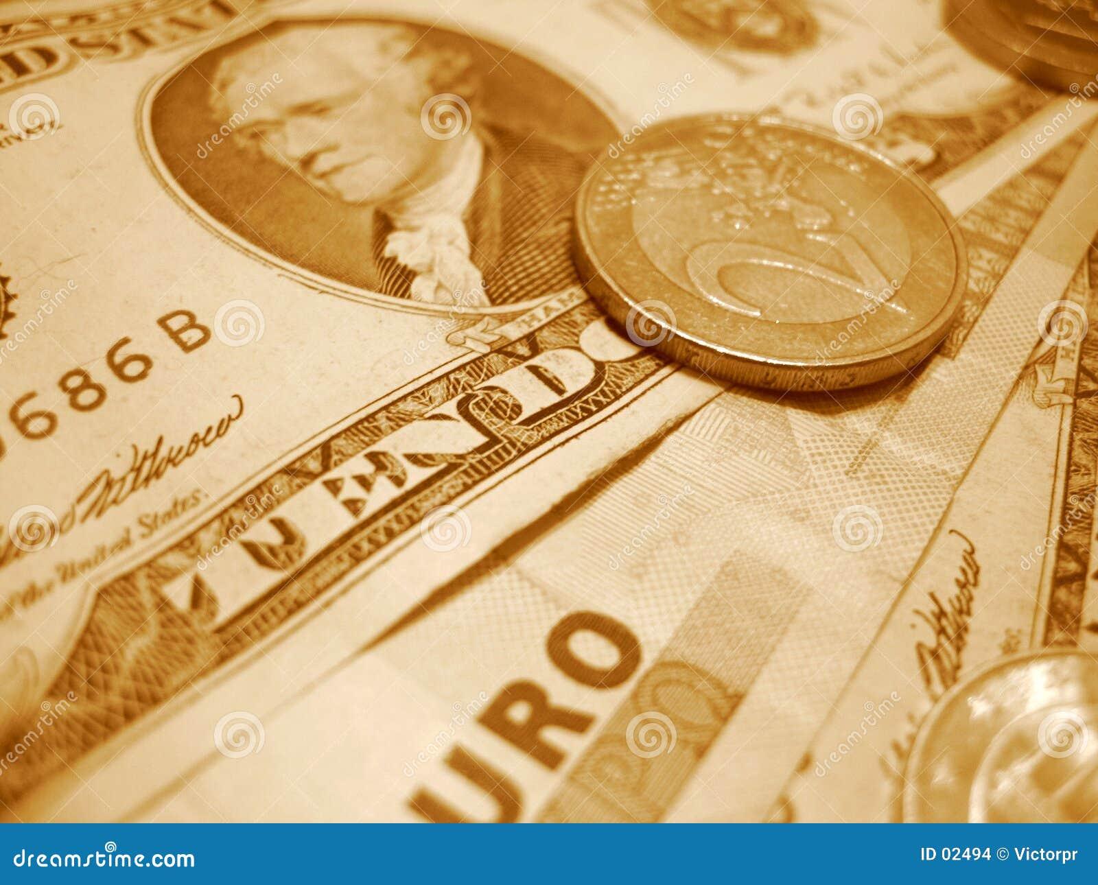 Euro e dólar
