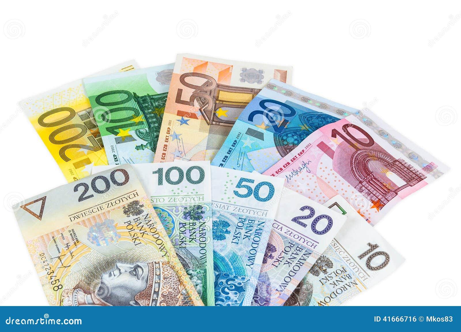 Zloty Euro