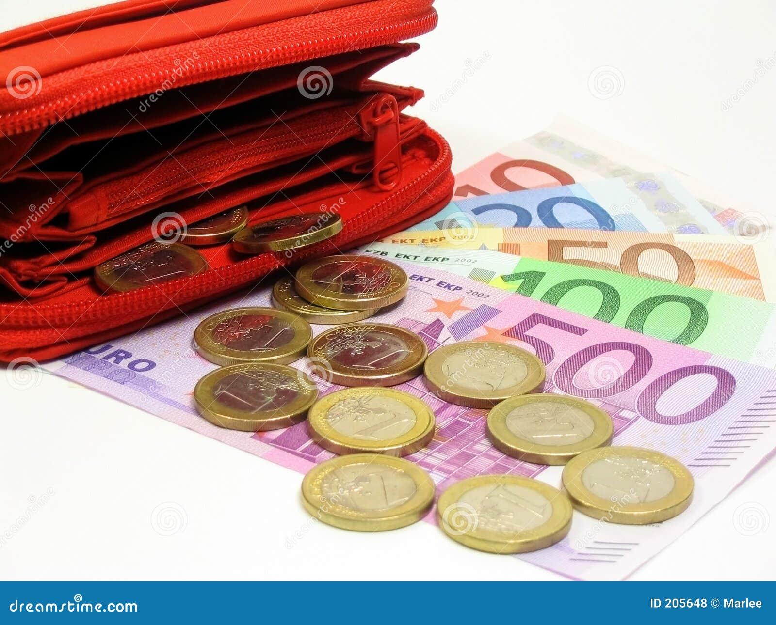 Euro e raccoglitore