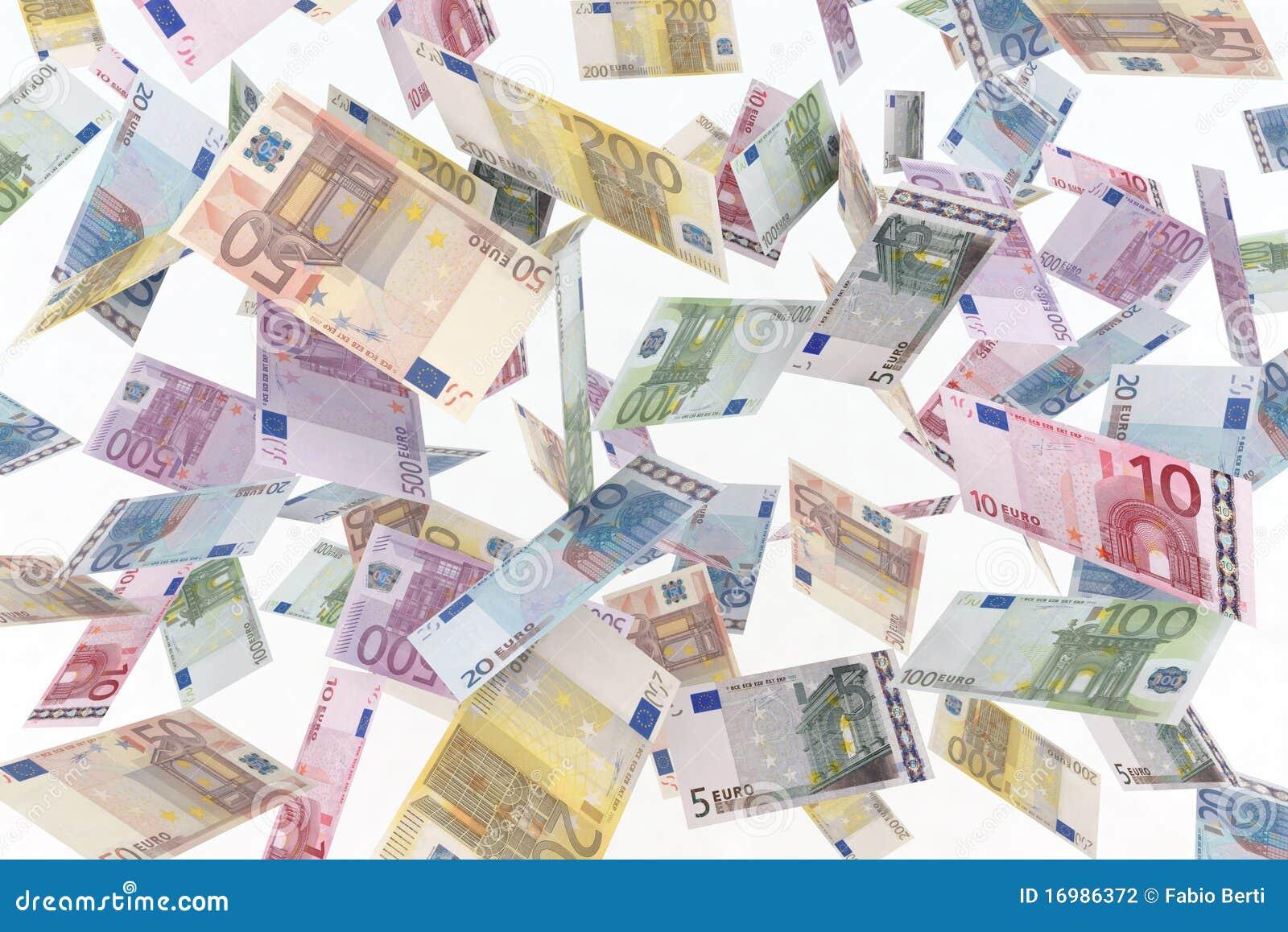 Euro en el aire