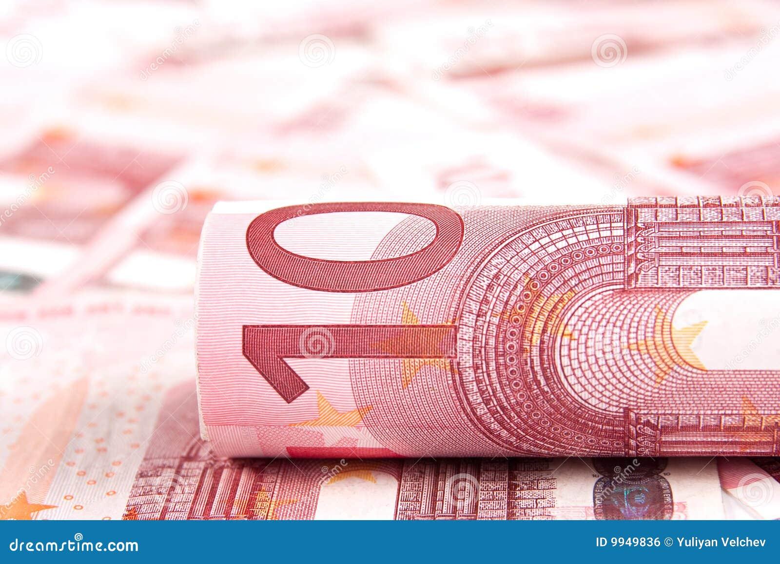 Euro för 10 bakgrund