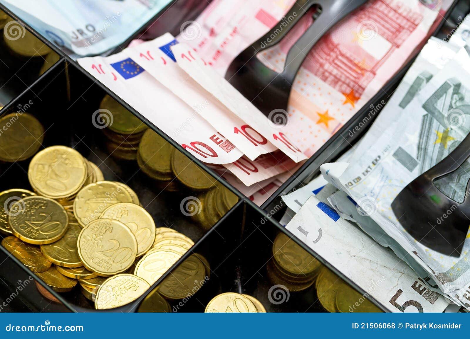 Euro geld tot