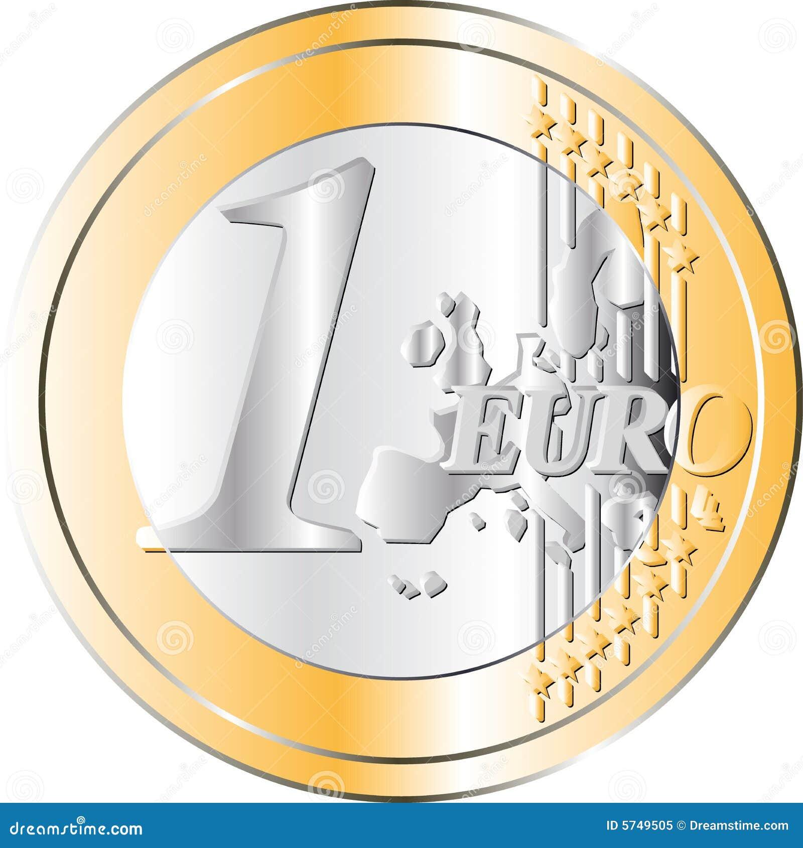 euro moeda foto de stock royalty free imagem 5749505. Black Bedroom Furniture Sets. Home Design Ideas