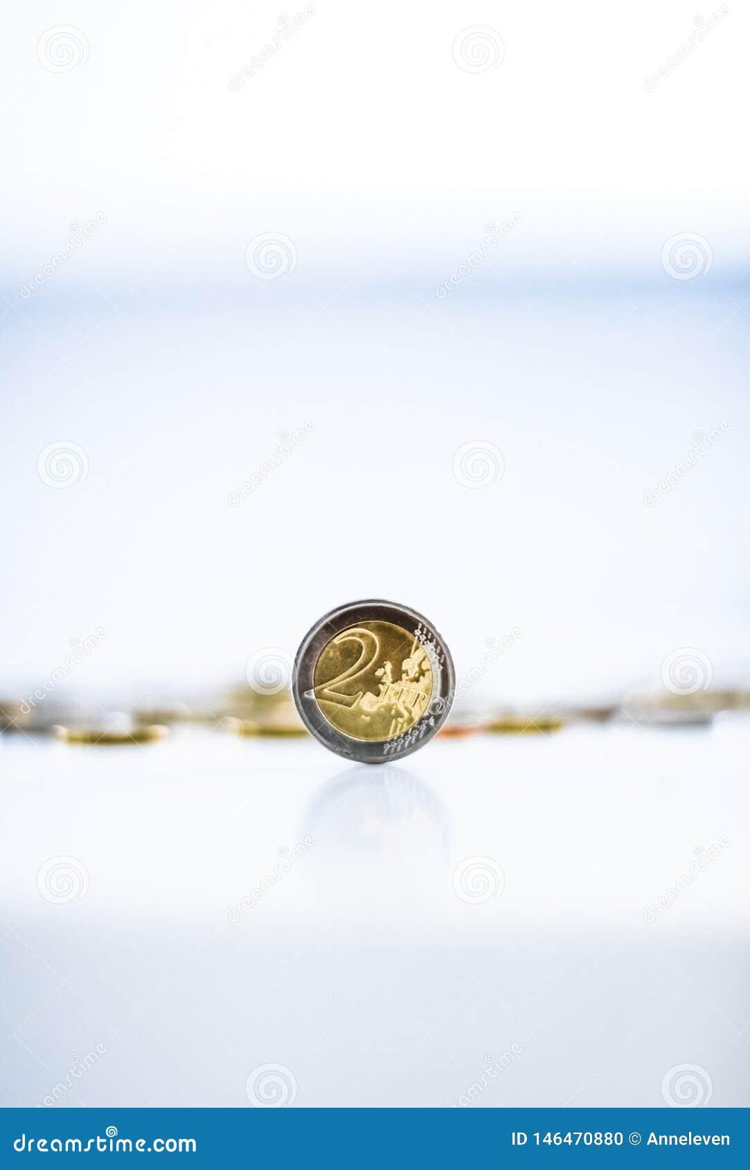 Euro monete, valuta dell Unione Europea