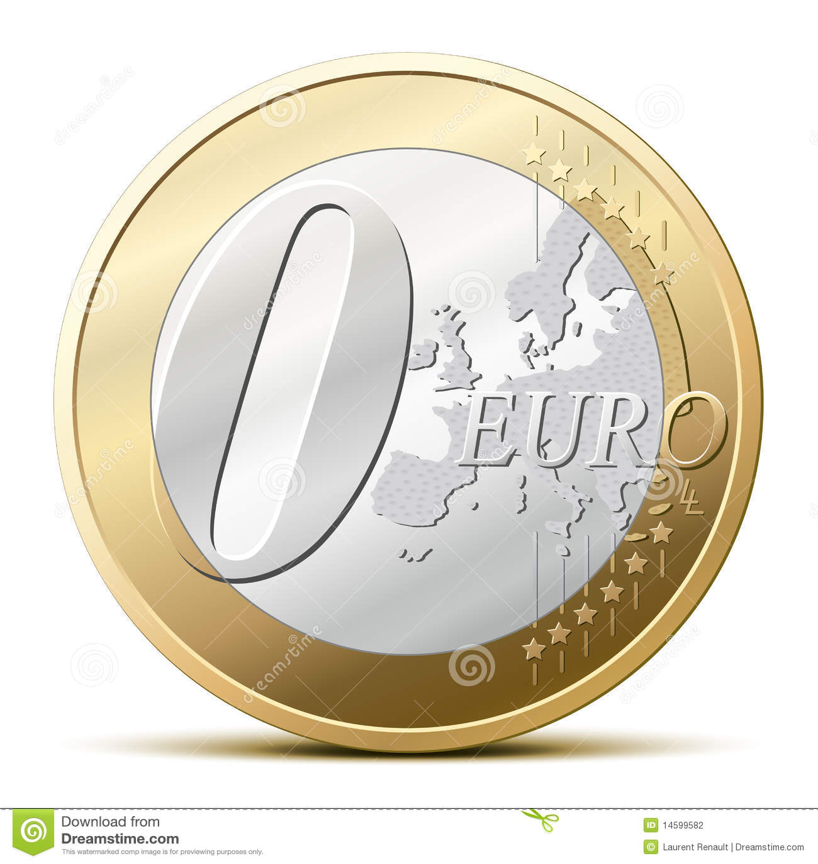 Euro muntstuk 0