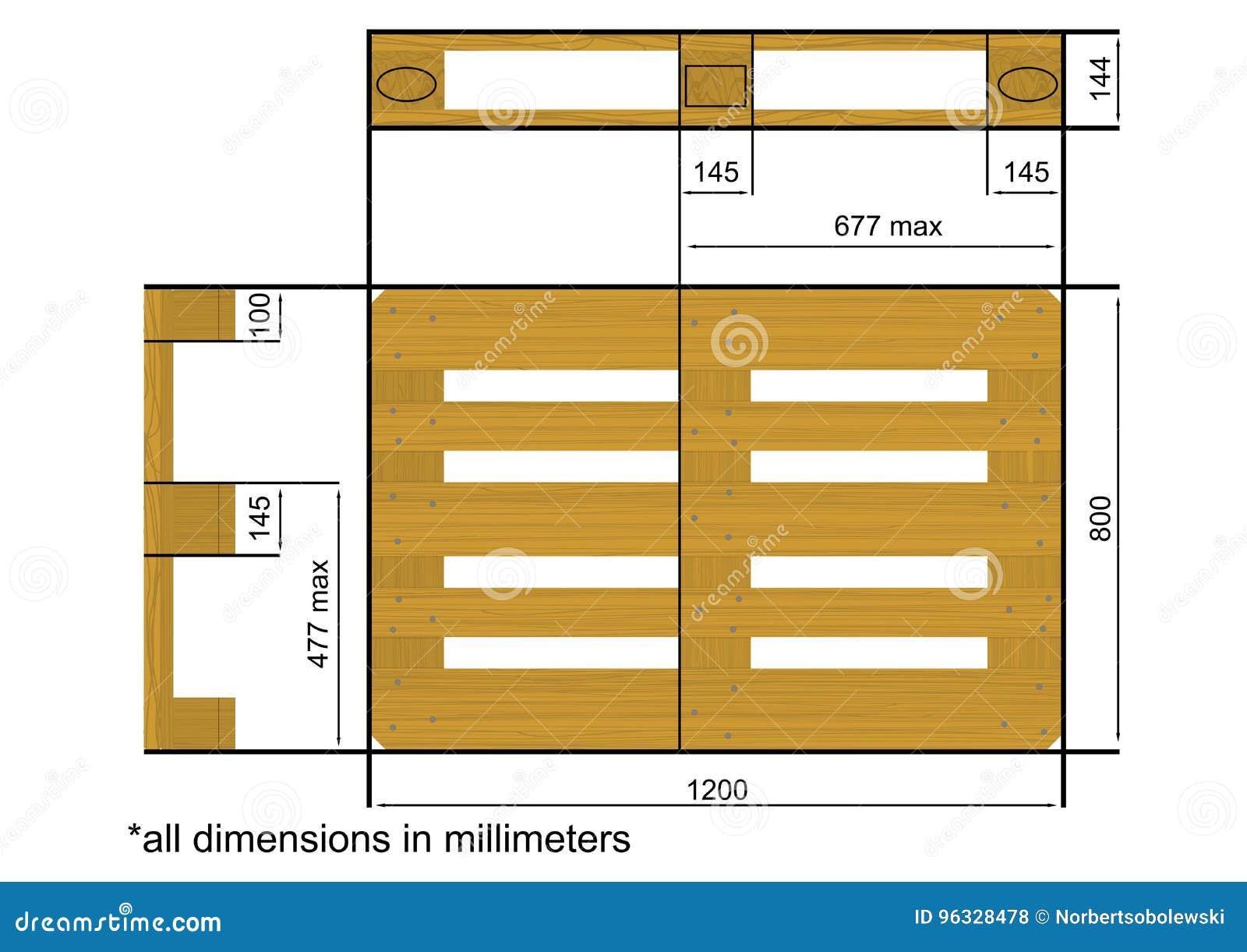 euro palette illustration de vecteur illustration du m moire 96328478. Black Bedroom Furniture Sets. Home Design Ideas