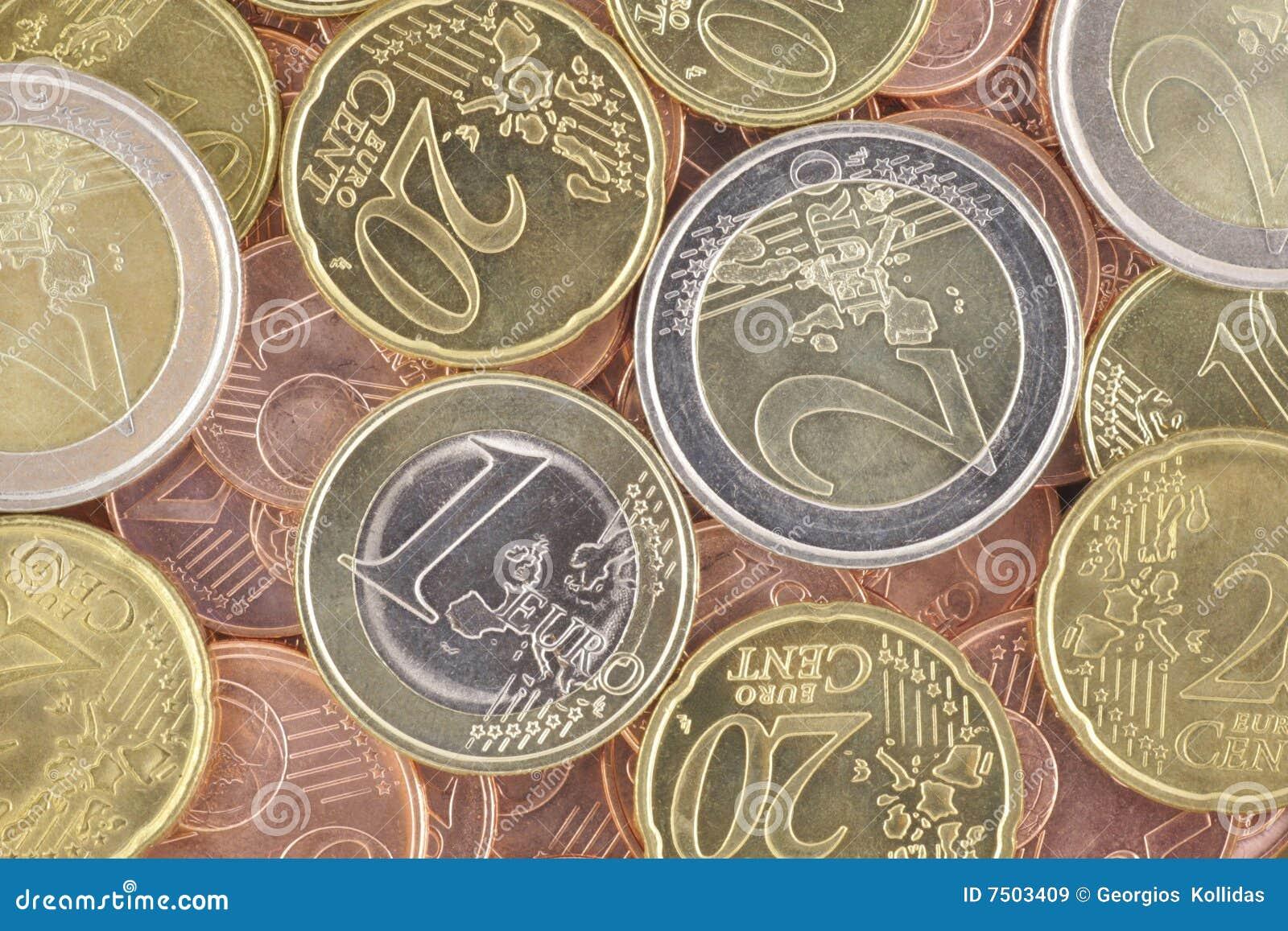 Euro pièces de monnaie