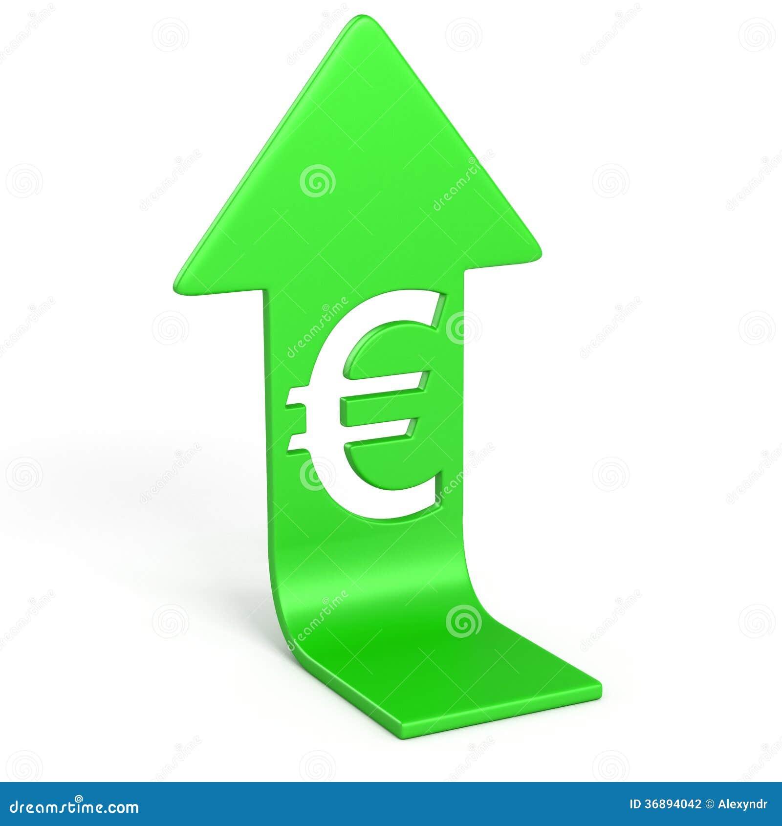 Download Euro su illustrazione di stock. Illustrazione di isolato - 36894042