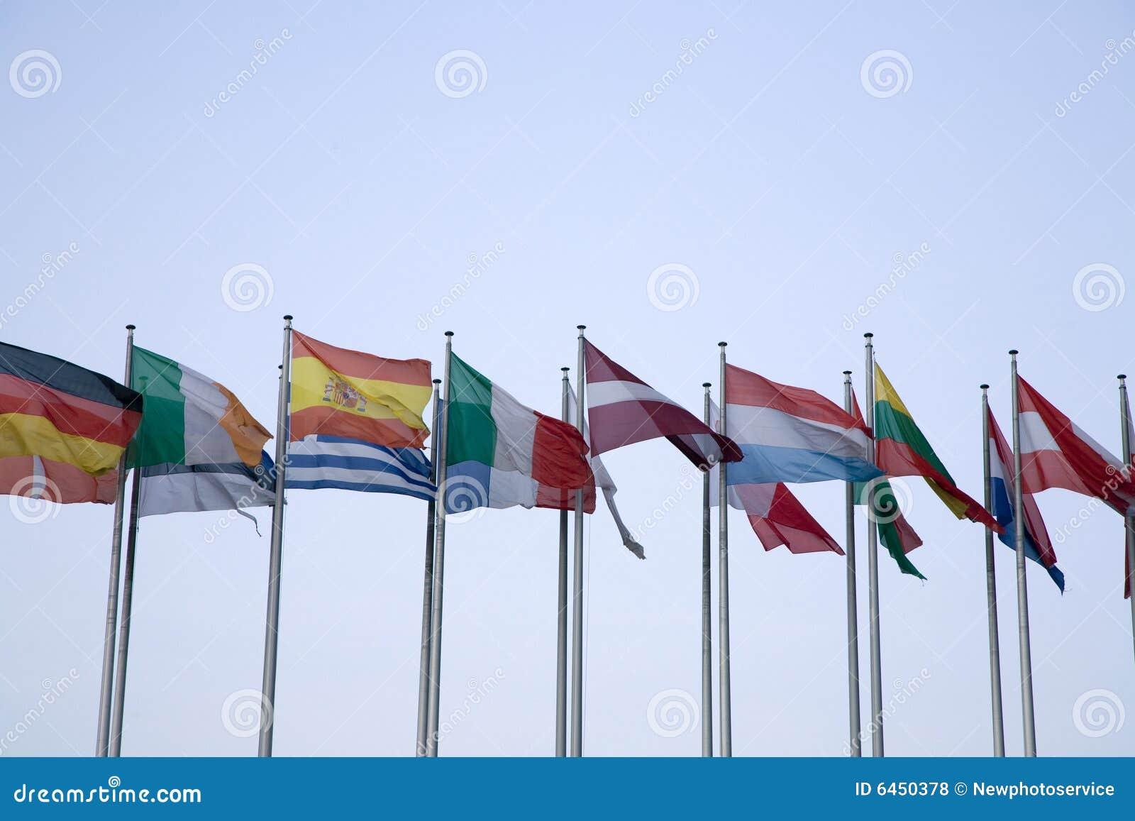 Euro Vlaggen