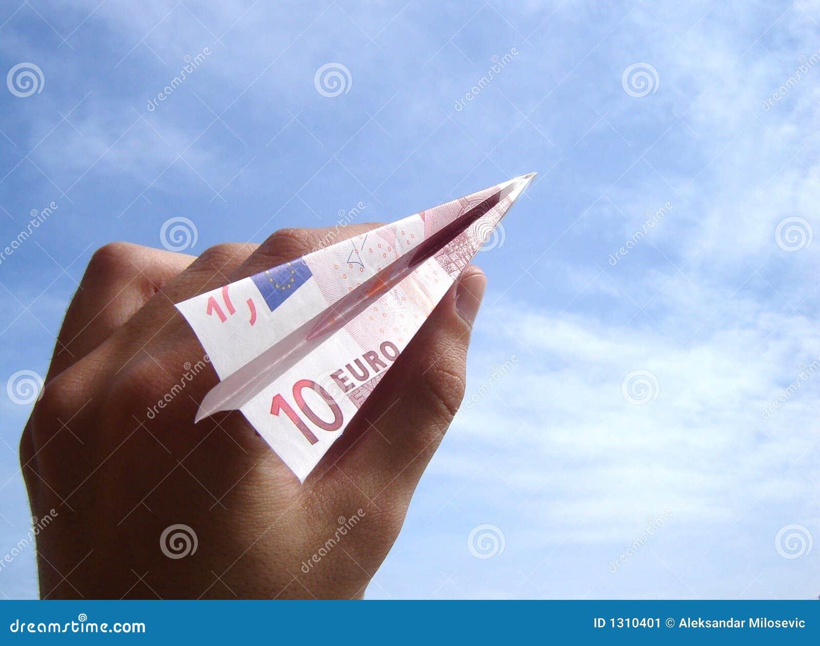 Euro vliegtuig tien
