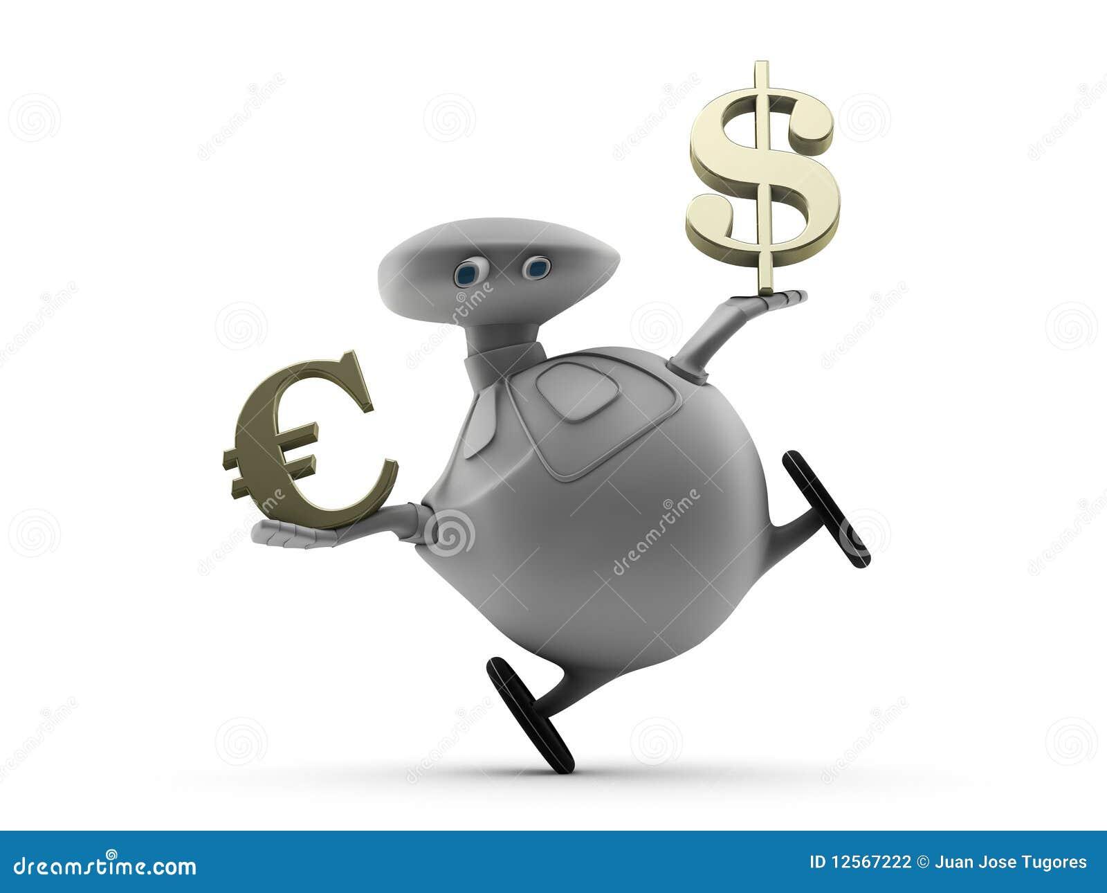 Euro y dólar de equilibrio