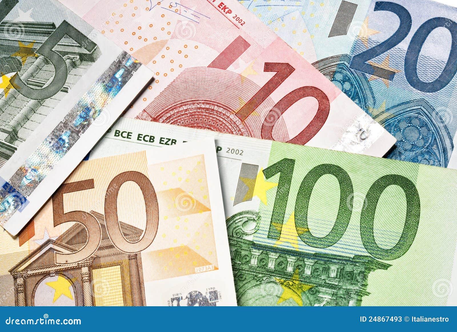 eurobanknoten stockbild bild von wirtschaftlichkeit