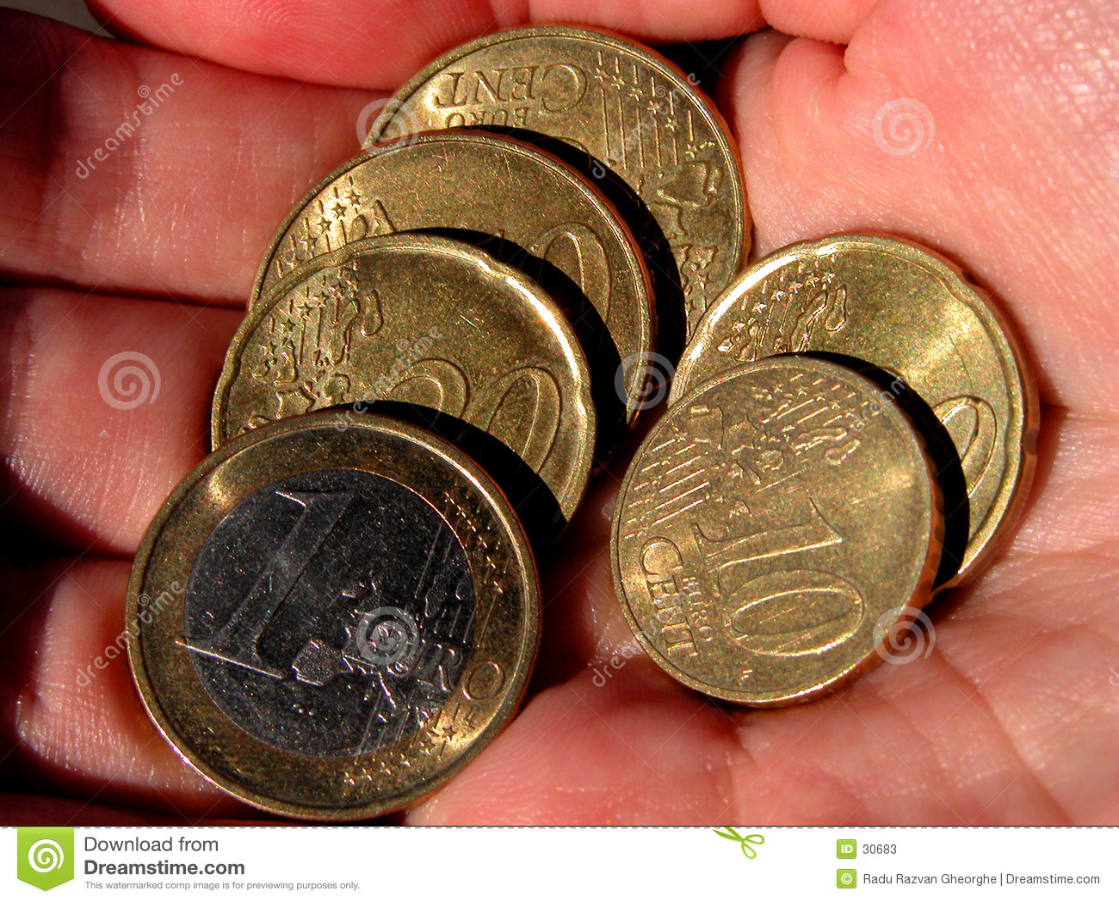 Eurocoinshand
