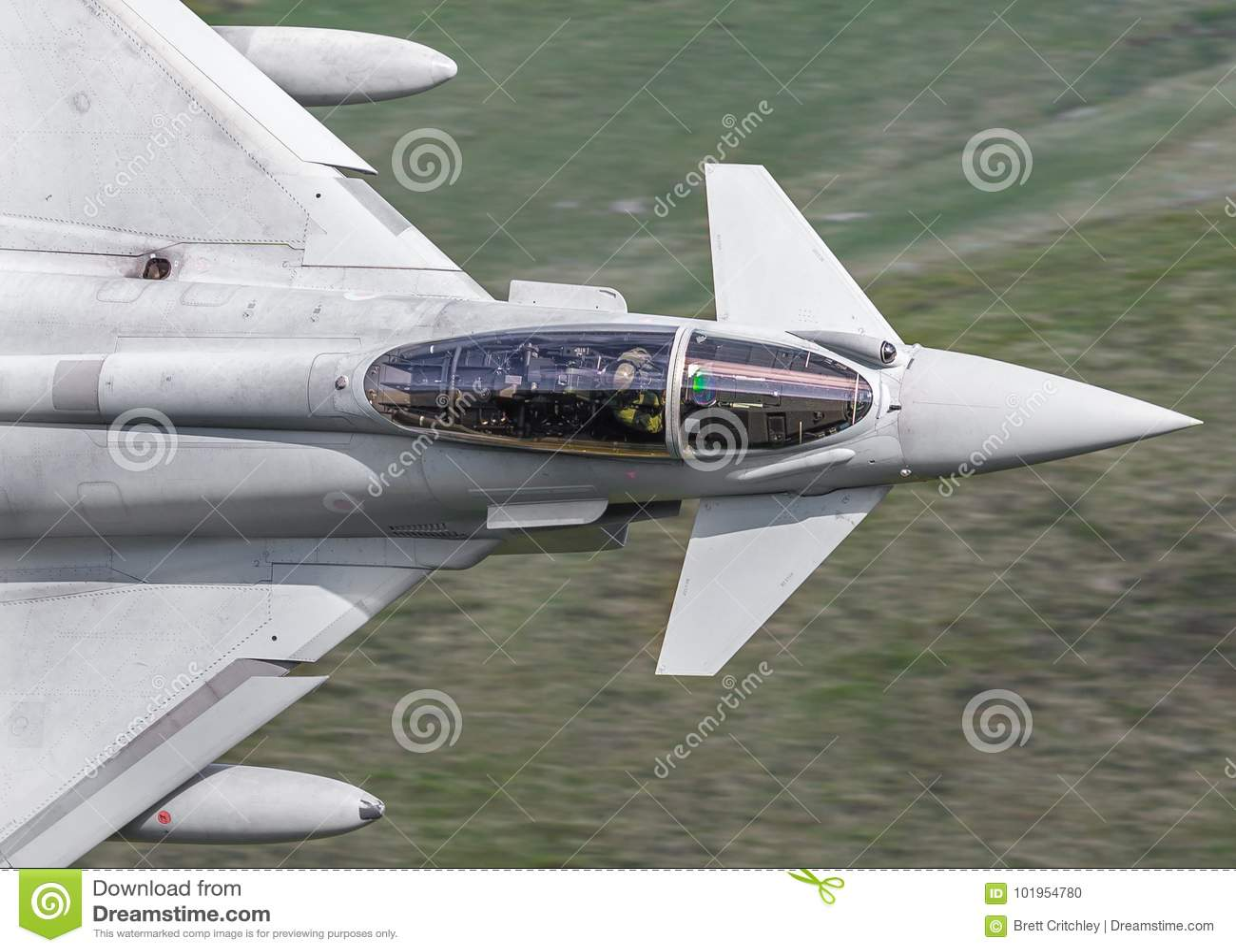 Eurofighter Typhoon Jet Cockpit Stock Photo - Image of