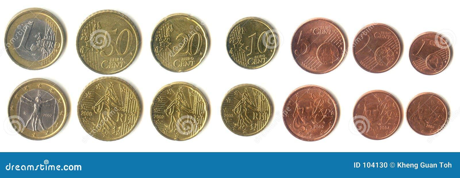 Euromünzen Stockfoto Bild Von Geschäft Länder Geld Finanzierung