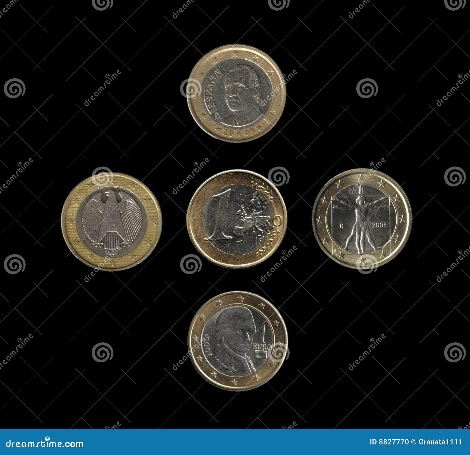 Euromünzen, 4 Nationen