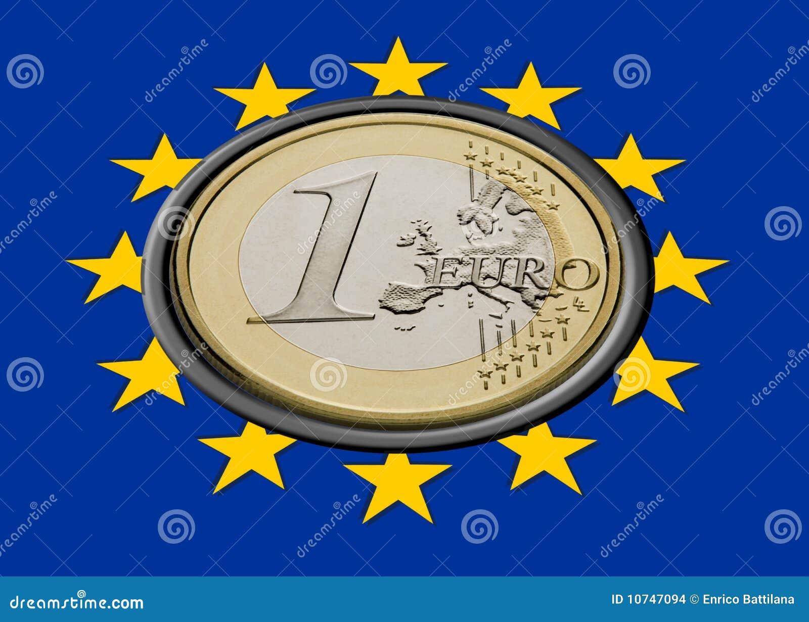 Euromarkierungsfahne