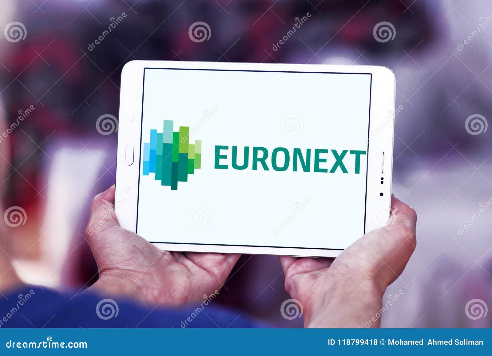 Euronext Stock Exchange Logo Editorial Stock Photo Image Of