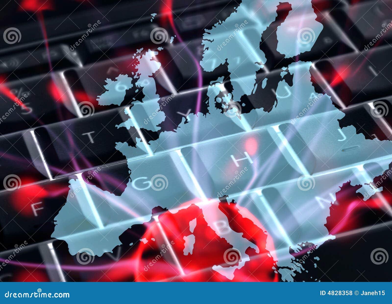 Europäische Internet-Kommunikationen
