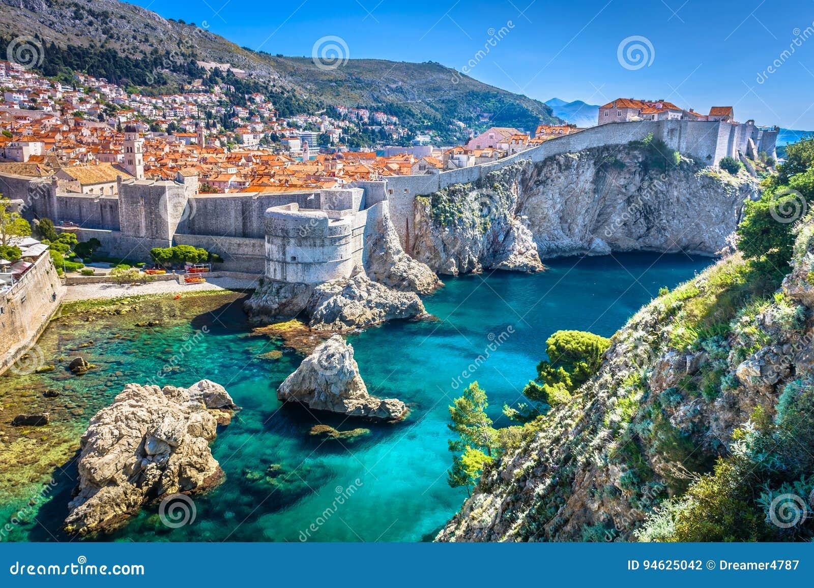 Europäischer Sommerurlaubsort in Kroatien, Dubrovnik