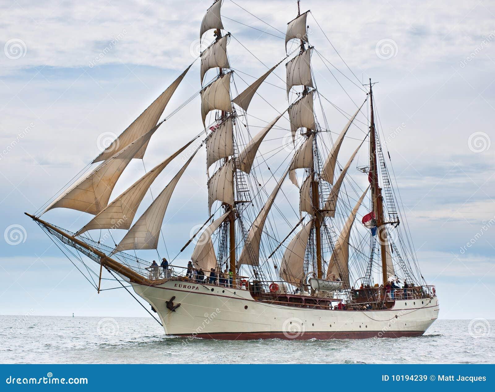 Europa alto do navio.