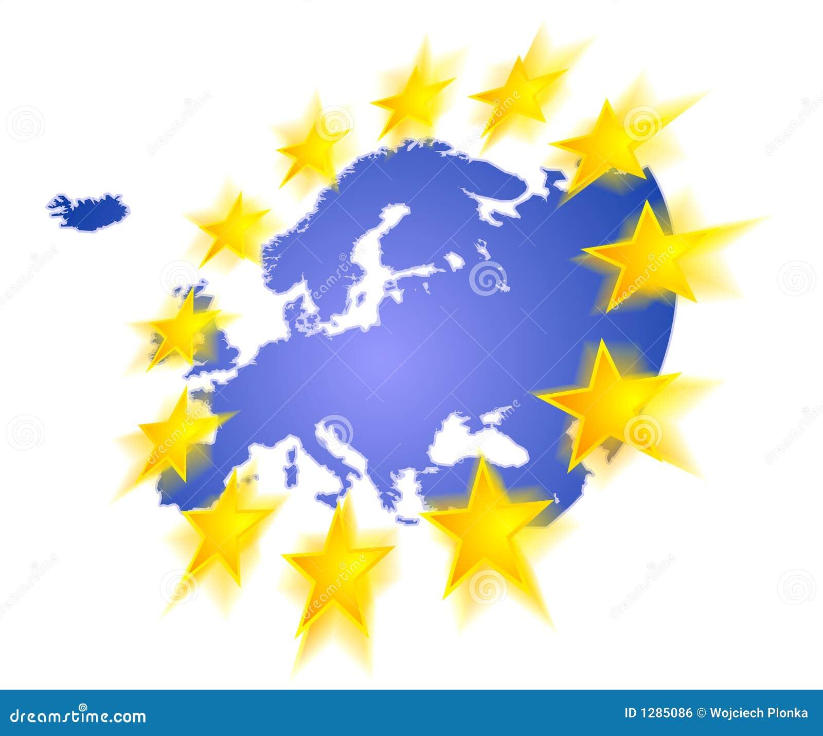 Europa con las estrellas