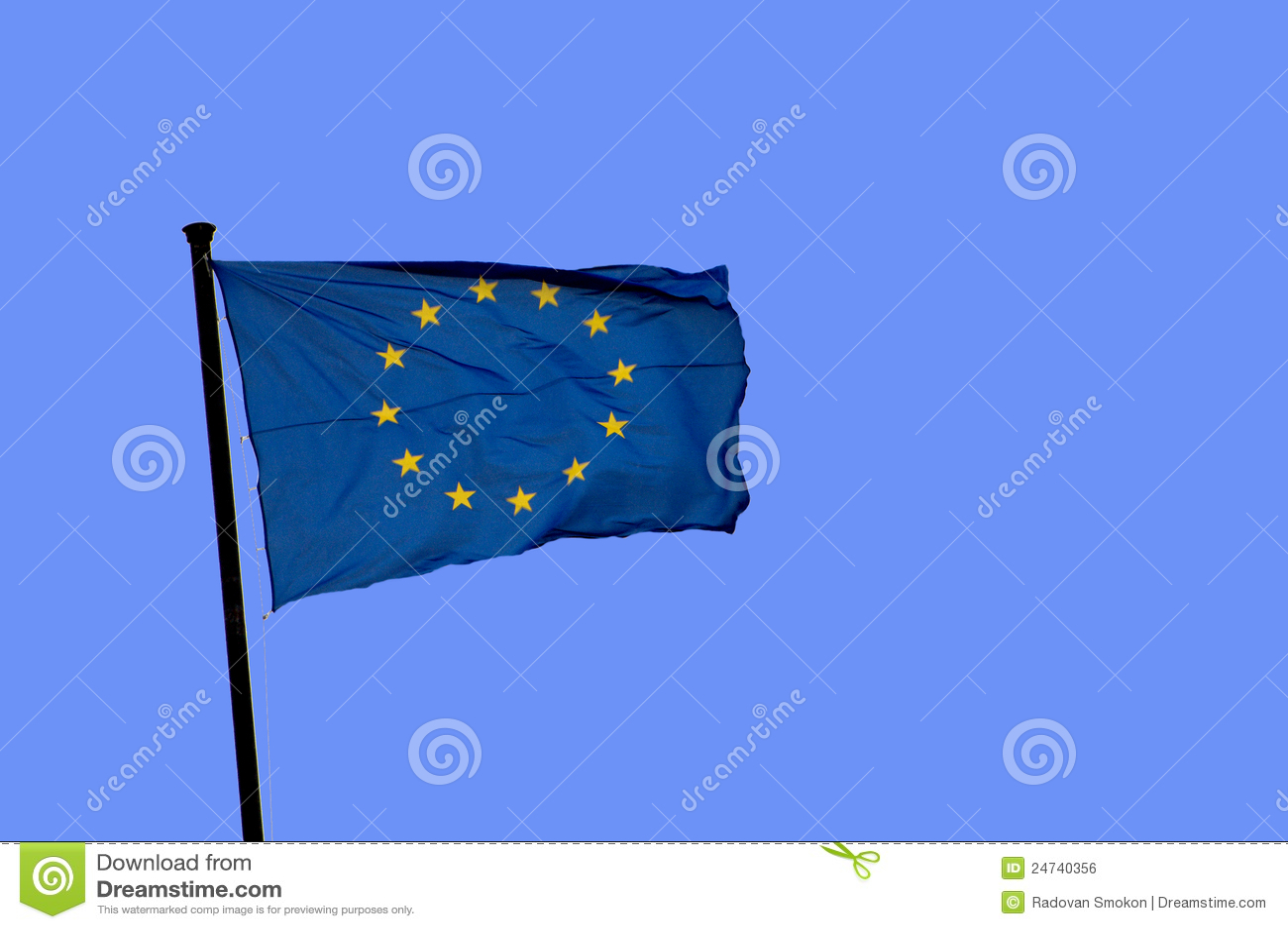 Europa flagga