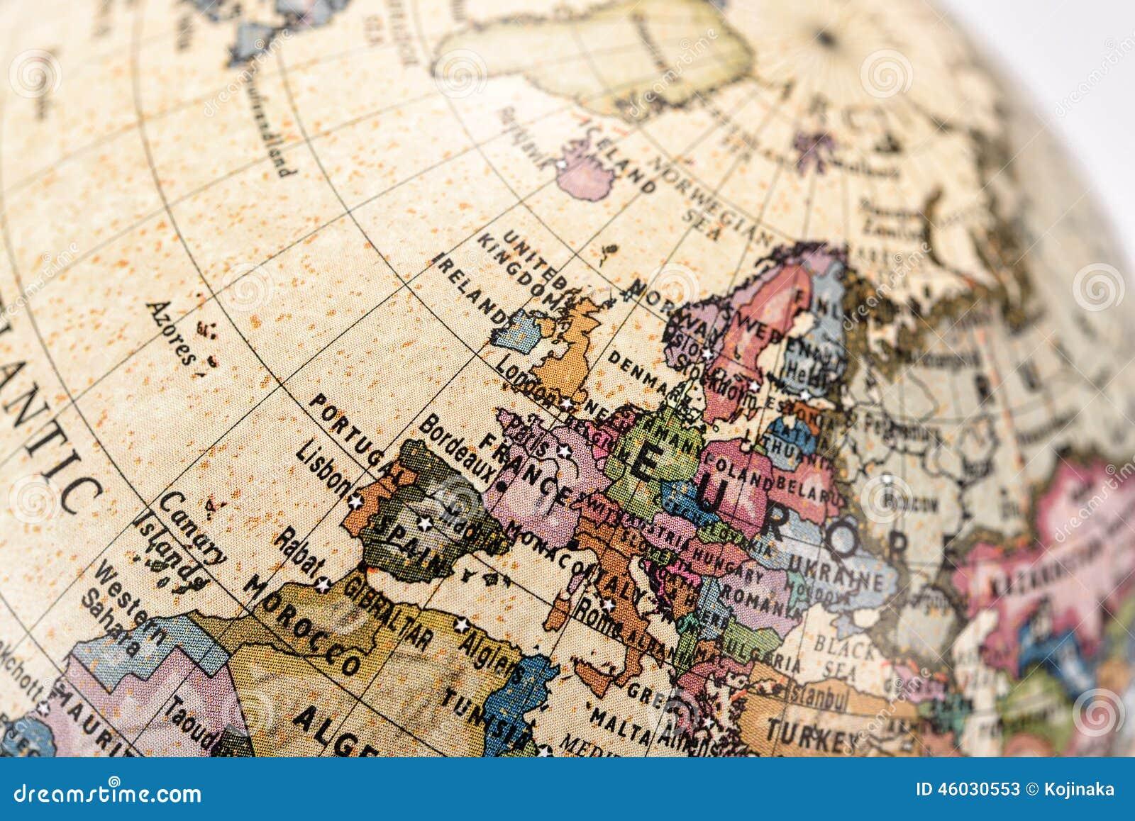 Europa jordklot