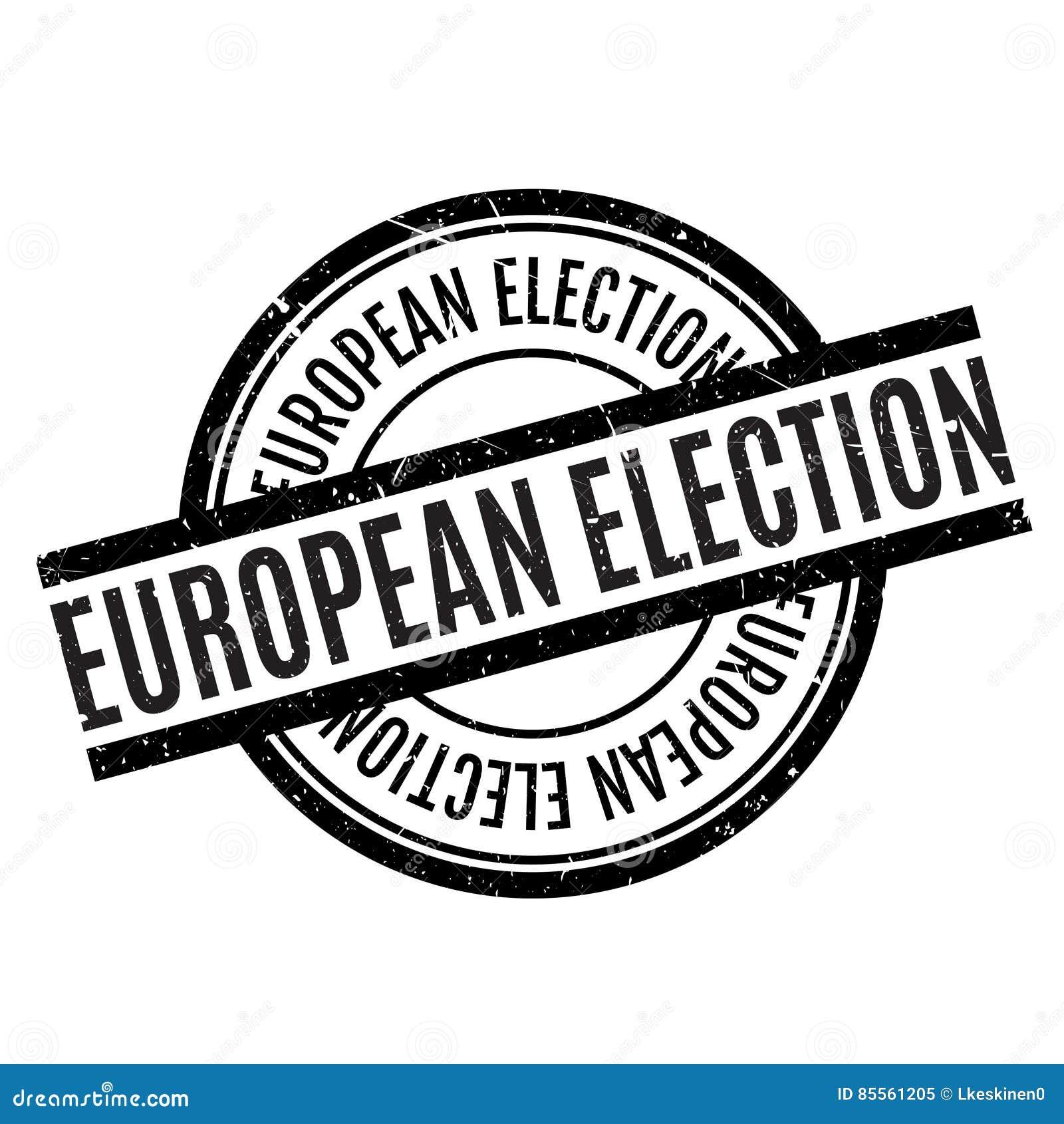 Europawahlstempel