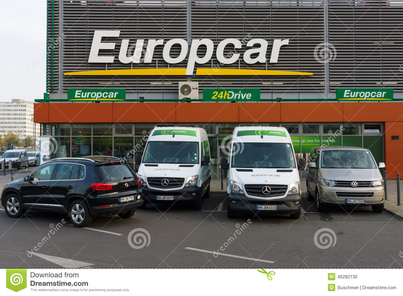 europcar est une soci t de location de voiture poss d e par eurazeo image ditorial image. Black Bedroom Furniture Sets. Home Design Ideas