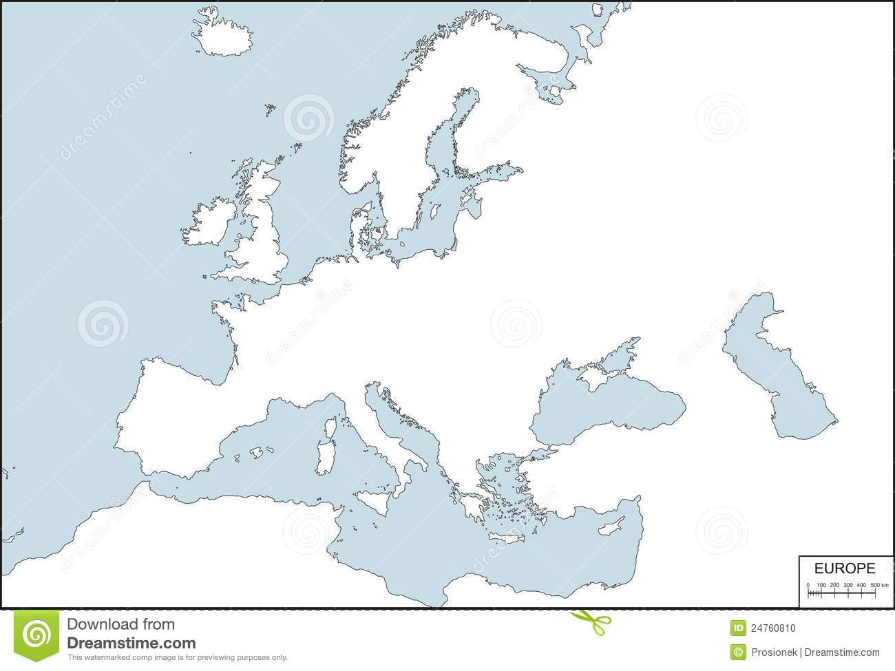 vector illustration of europe - photo #23