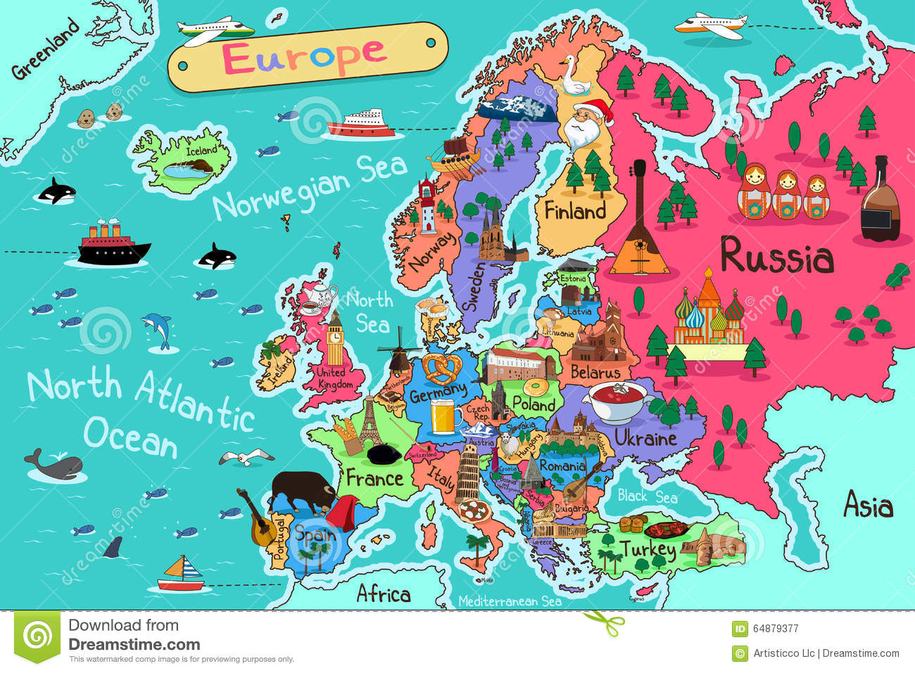 europe map stock vector illustration of backdrop  cartoon us map clip art cartoon us map clipart