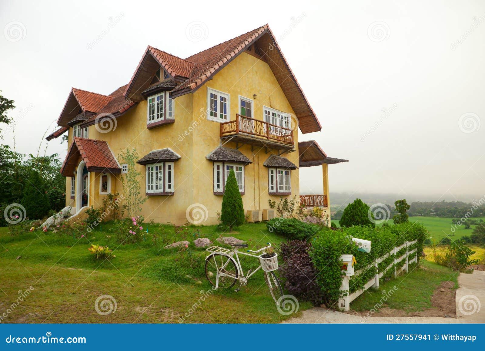 Europe style house stock image image 27557941 Europe style house