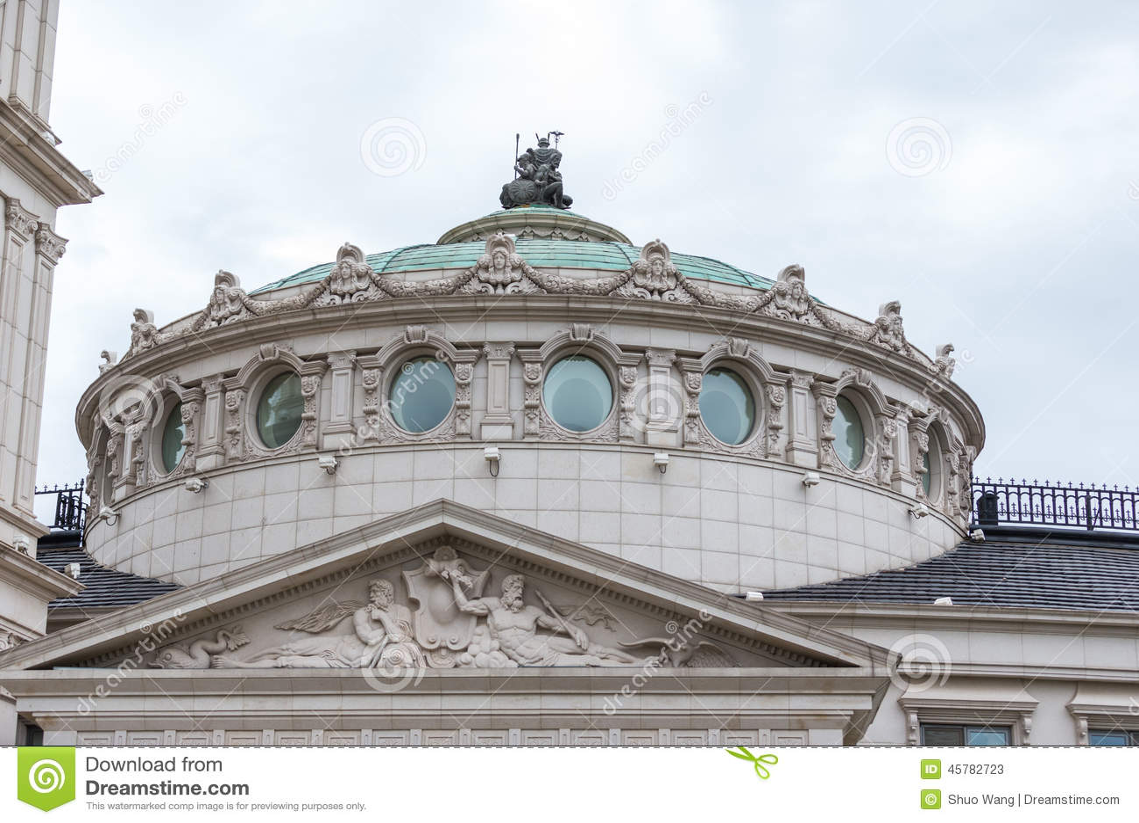 European Architecture Stock Photo - Image: 45782723