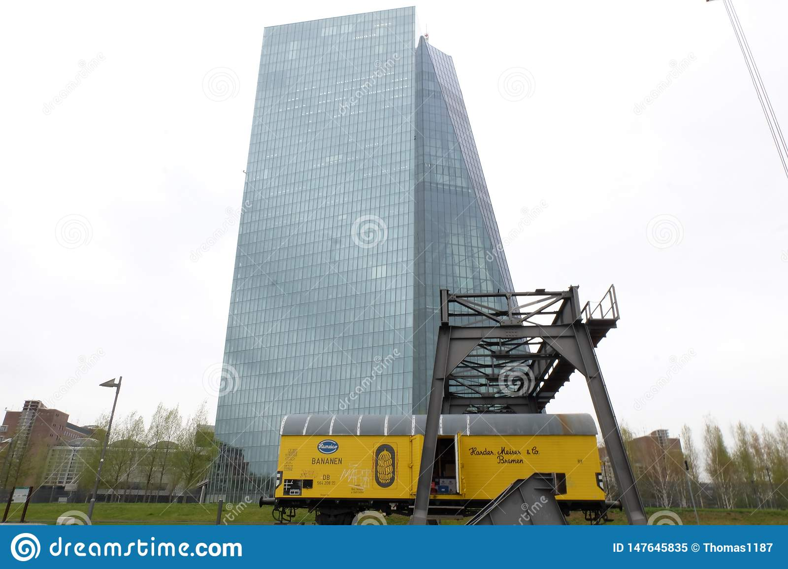 European Central Bank ECB in Frankfurt