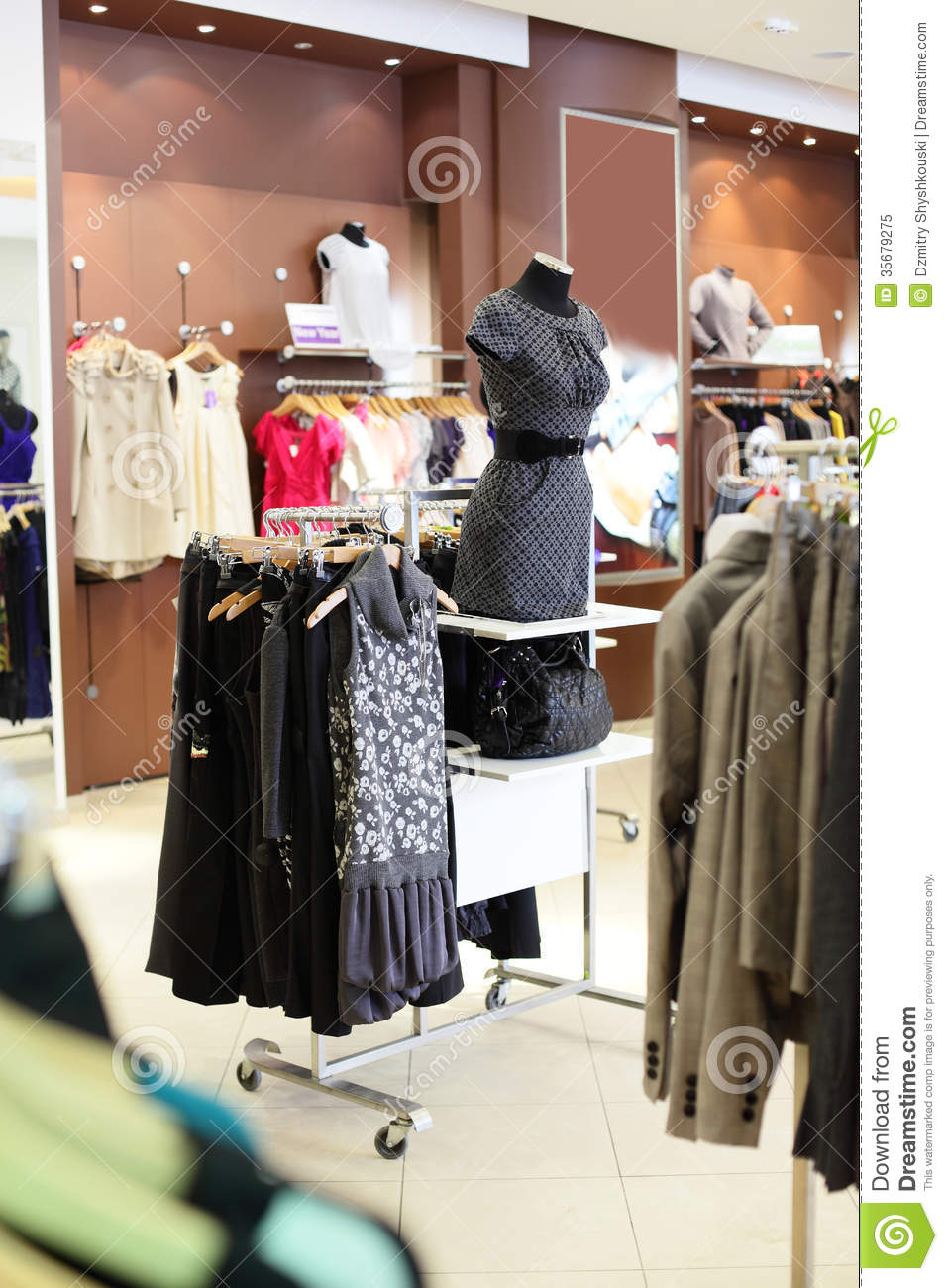 European clothing stores