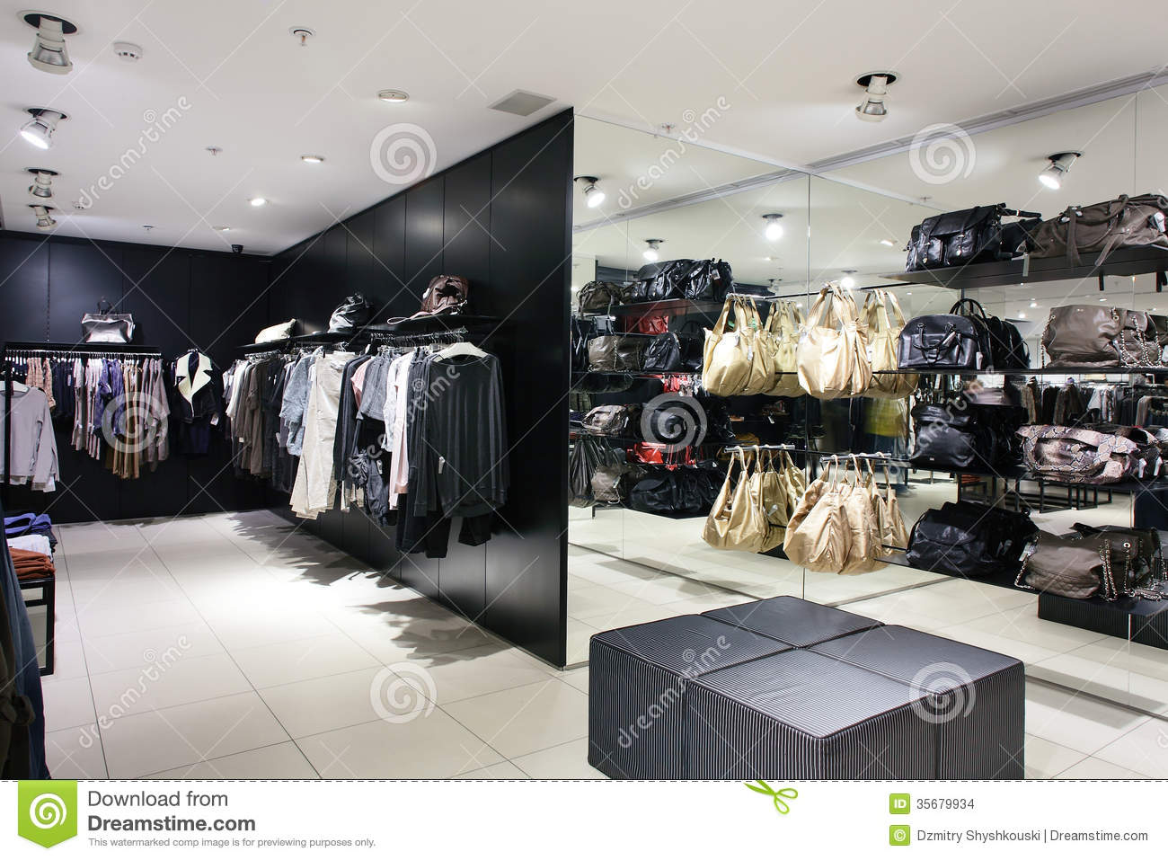 Collection clothing store. Women clothing stores