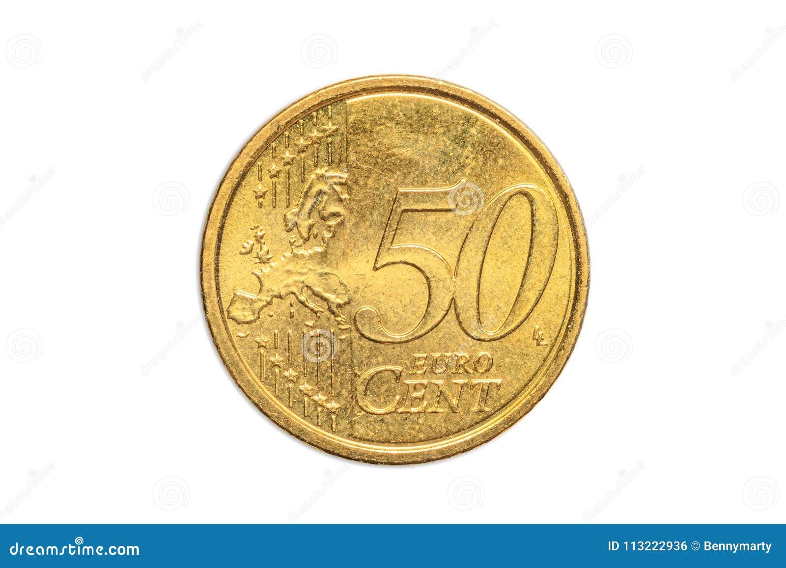 Europe 50 euro cents