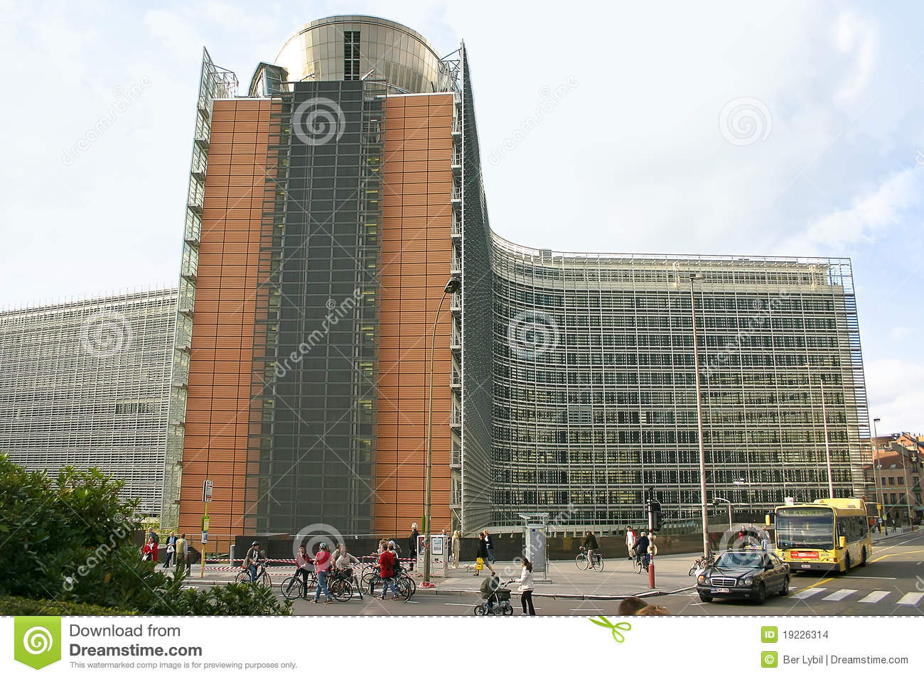 European commission building brussels editorial stock image image 19226314 - European commission office ...