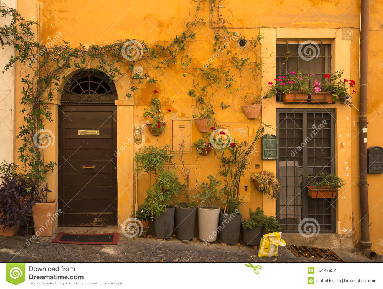 979 #C87A03 European Front Door Stock Photo Image: 65442852 pic European Exterior Doors 46111300