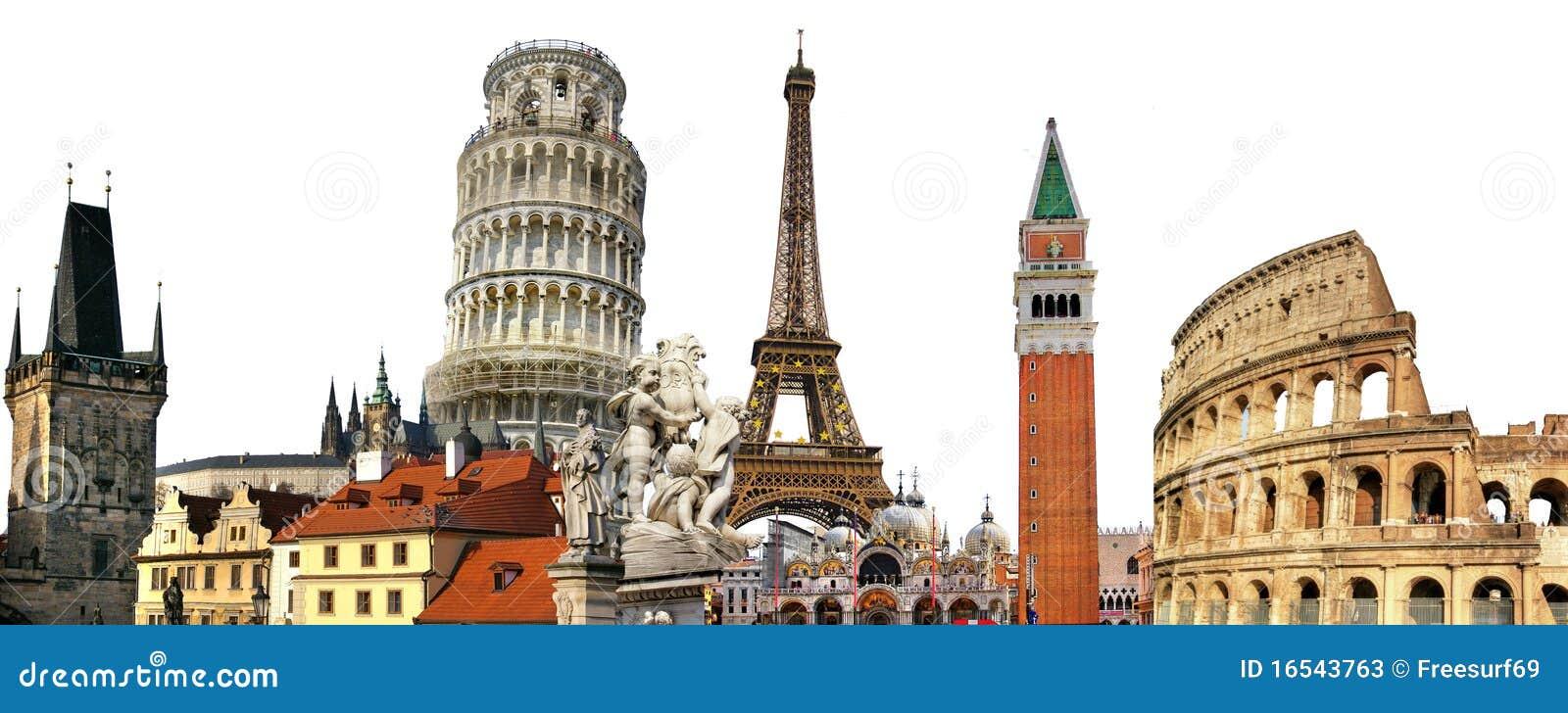 Download European landmarks stock image. Image of postal, aged - 16543763