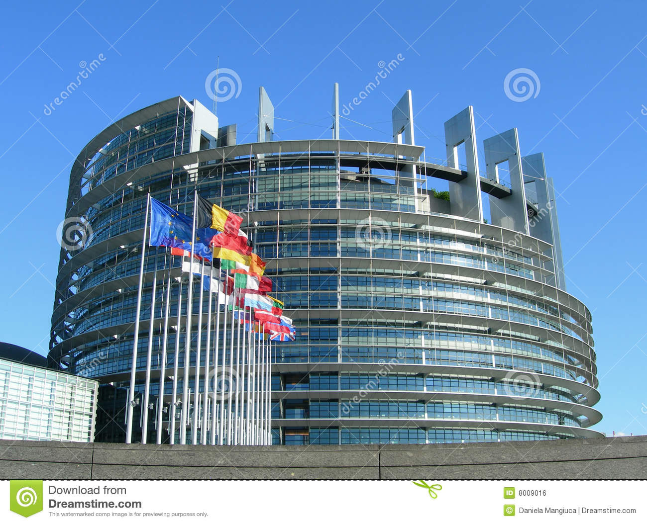 Download European Parliament In Strasbourg Stock Photo - Image of building, constitution: 8009016