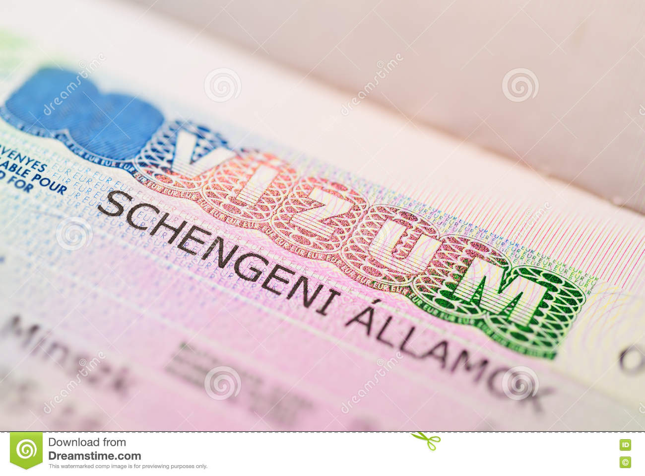 Europe Sticker Visa Photos Free Royalty Free Stock Photos From Dreamstime