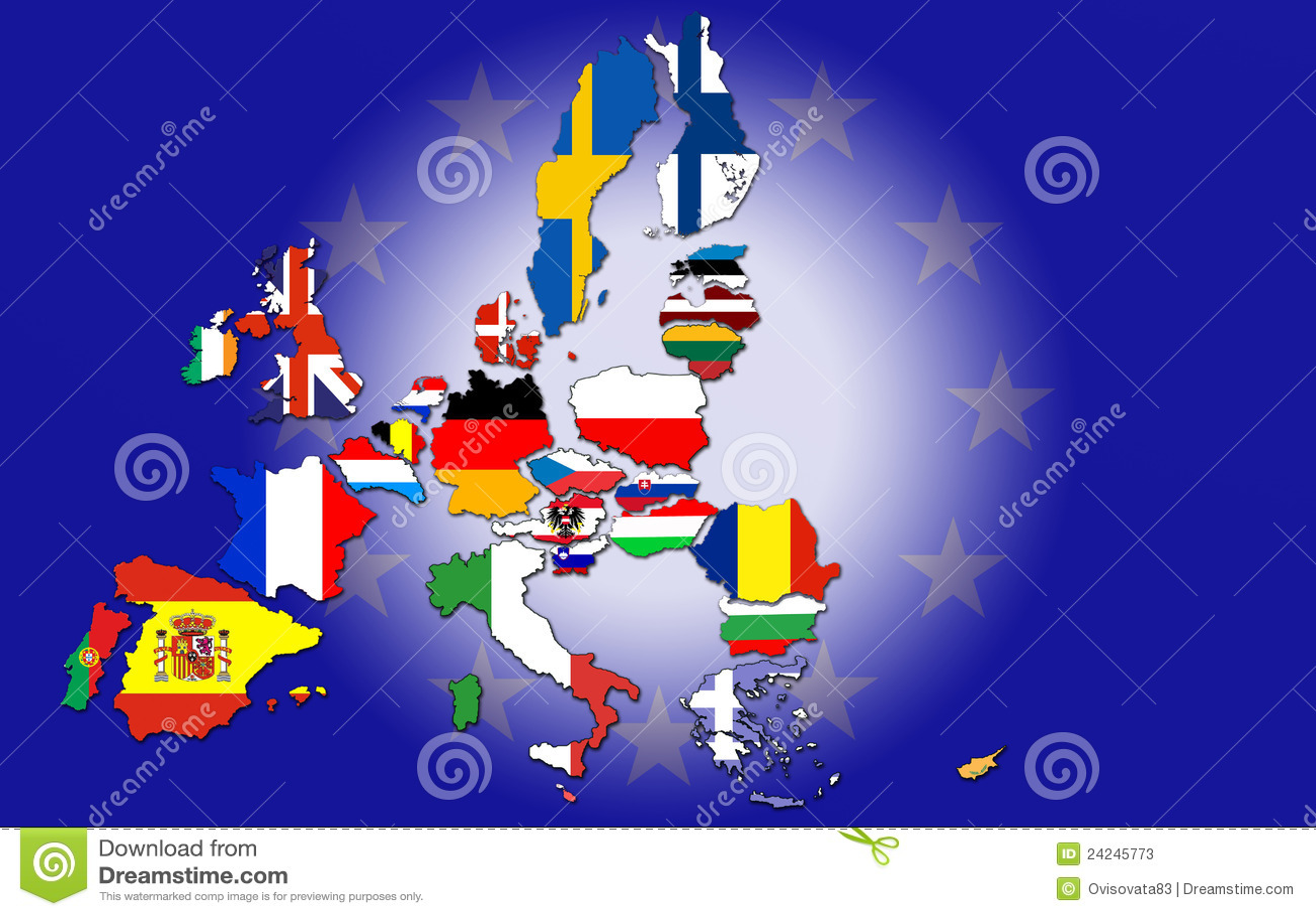 european union countries stock photos image 24245773. Black Bedroom Furniture Sets. Home Design Ideas