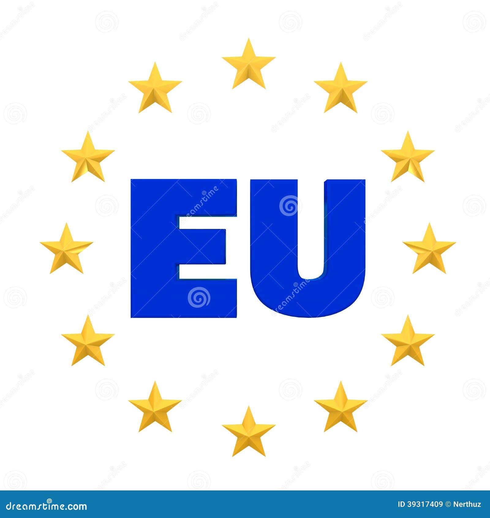european union symbol stock illustration illustration of
