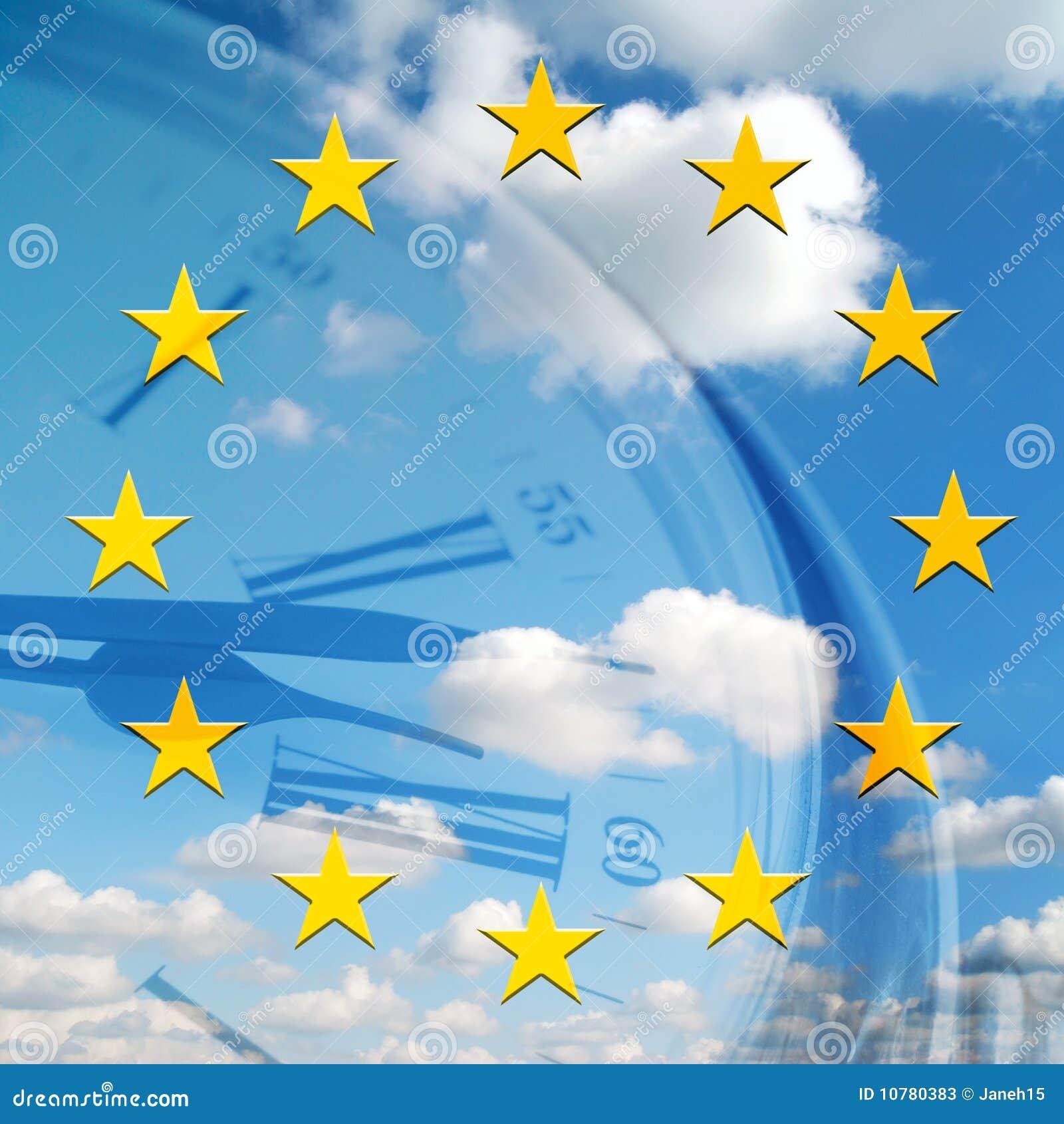 Europees tijdconcept
