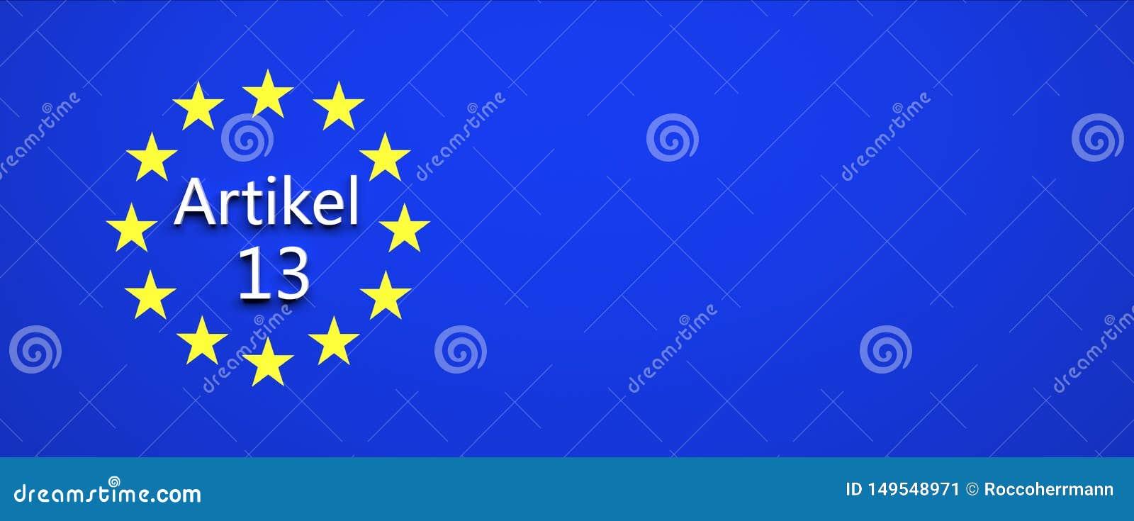 Europeiskt fackligt lagbeslut - illustration