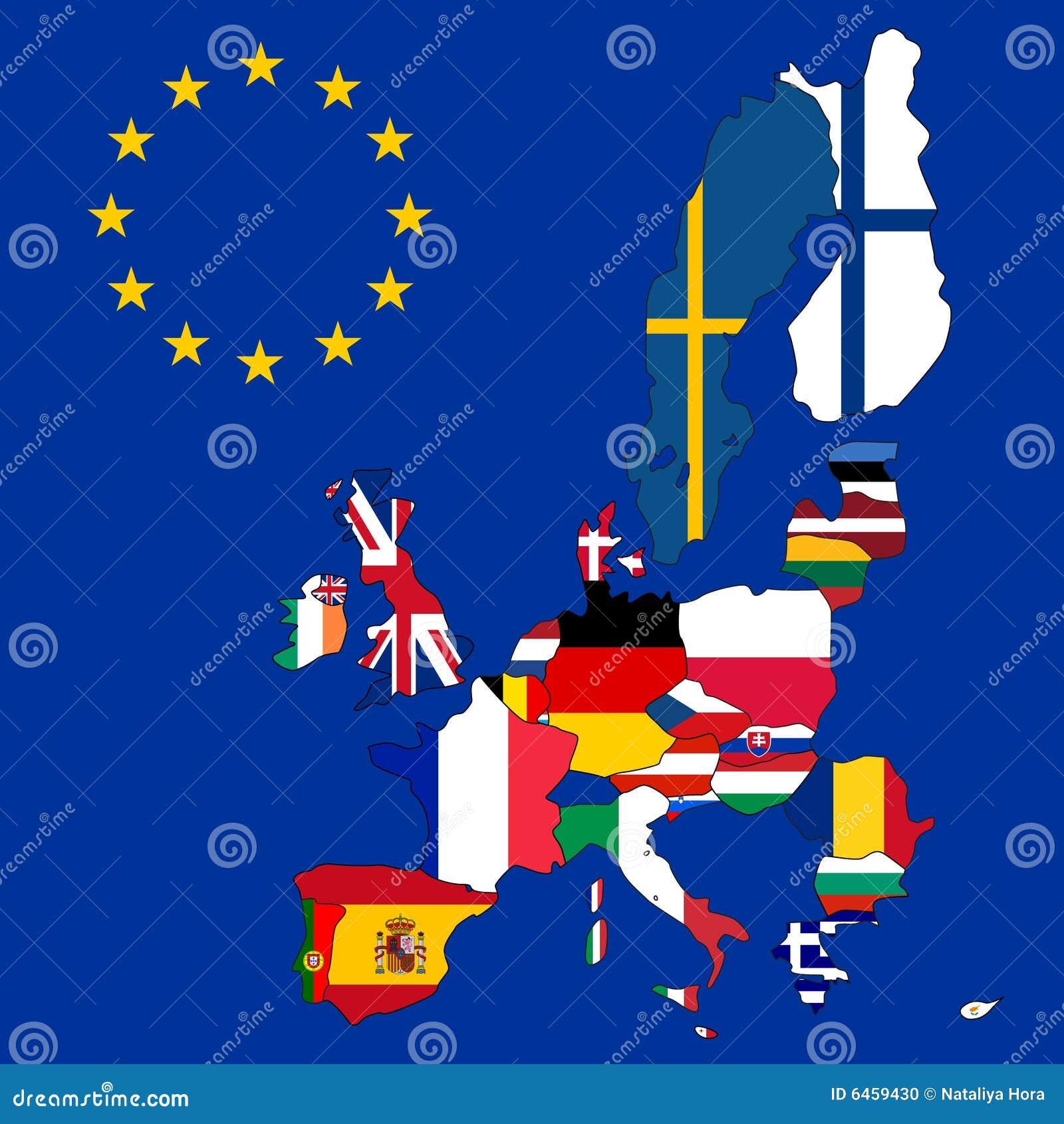 Europejska unia mapy.